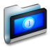 Movies-Metal-Folder icon