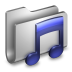 Music-Metal-Folder icon