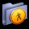 Public-Blue-Folder icon