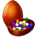Chocolate-egg icon