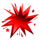 Fireworks-red icon
