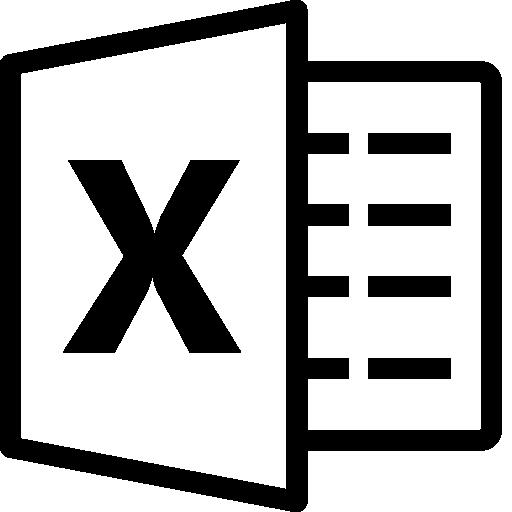 Logos Excel Copyright icono - ico,png,icns,Iconos Descargar libre